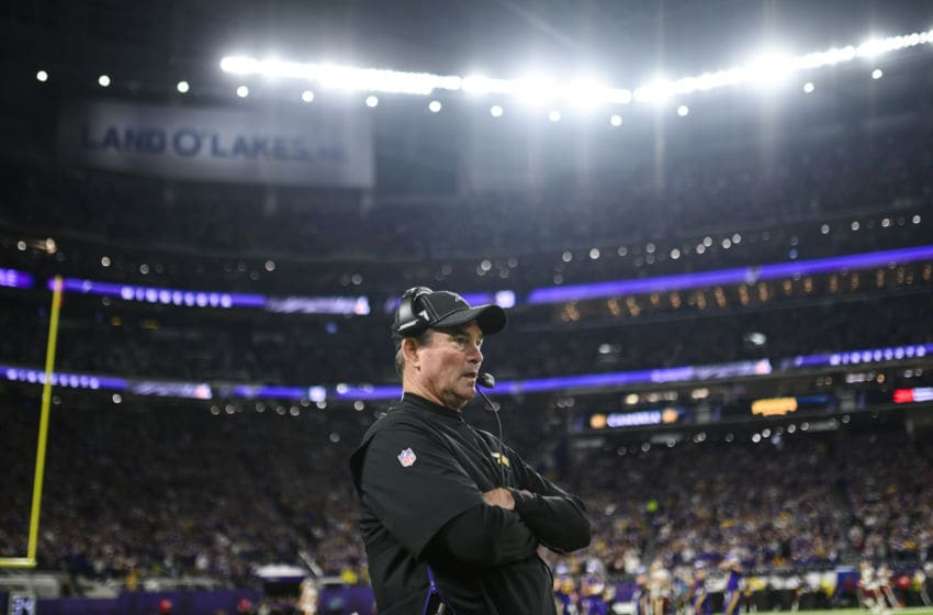 (Photo by Stephen Maturen/Getty Images) Mike Zimmer