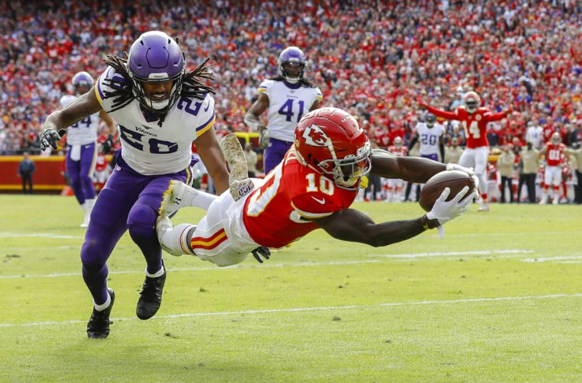 (Photo by David Eulitt/Getty Images) Tyreek Hill