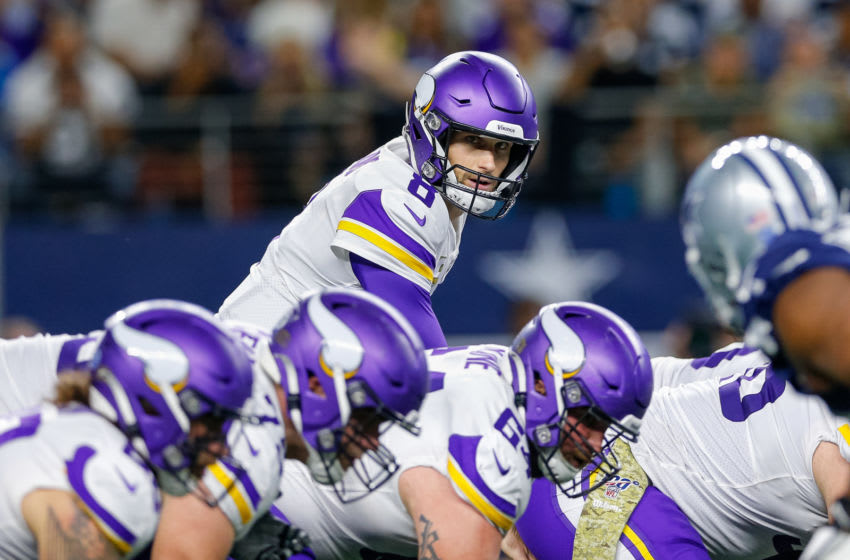 Kirk Cousins, Minnesota Vikings. (Photo by Andrew Dieb/Icon Sportswire via Getty Images) Kirk Cousins