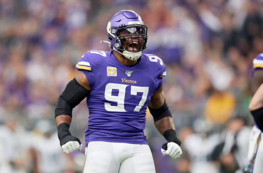 (Photo by Hannah Foslien/Getty Images) Everson Griffen