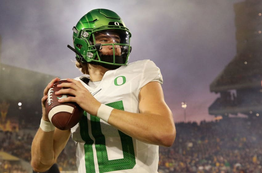 (Photo by Christian Petersen/Getty Images) Justin Herbert