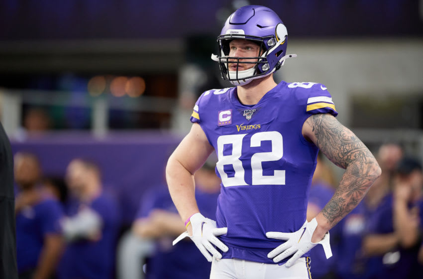 (Photo by Hannah Foslien/Getty Images) Kyle Rudolph