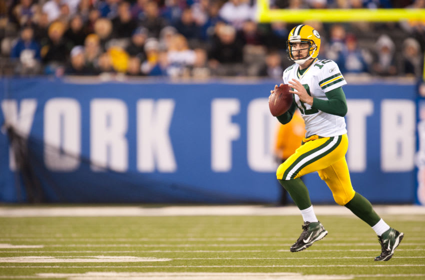 (Photo by Rob Tringali/SportsChrome/Getty Images) Aaron Rodgers