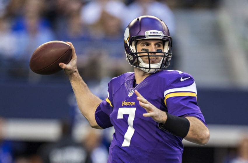 (Photo by Wesley Hitt/Getty Images) Christian Ponder