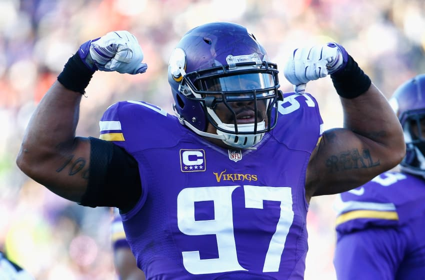 (Photo by Jamie Squire/Getty Images) Everson Griffen
