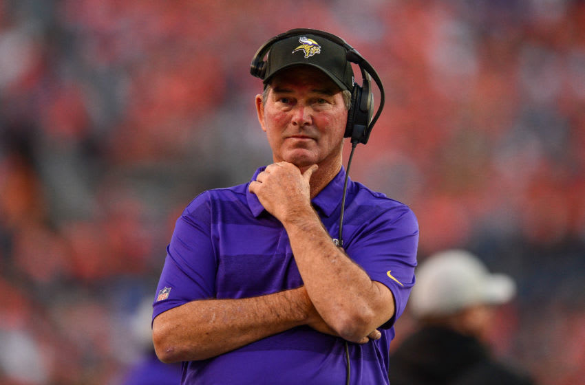 (Photo by Dustin Bradford/Getty Images) Mike Zimmer
