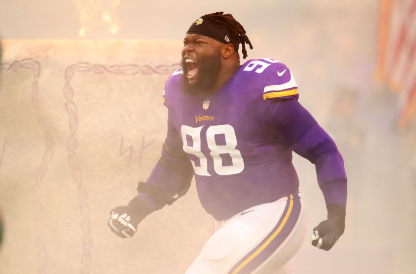(Photo by Adam Bettcher/Getty Images) Linval Joseph
