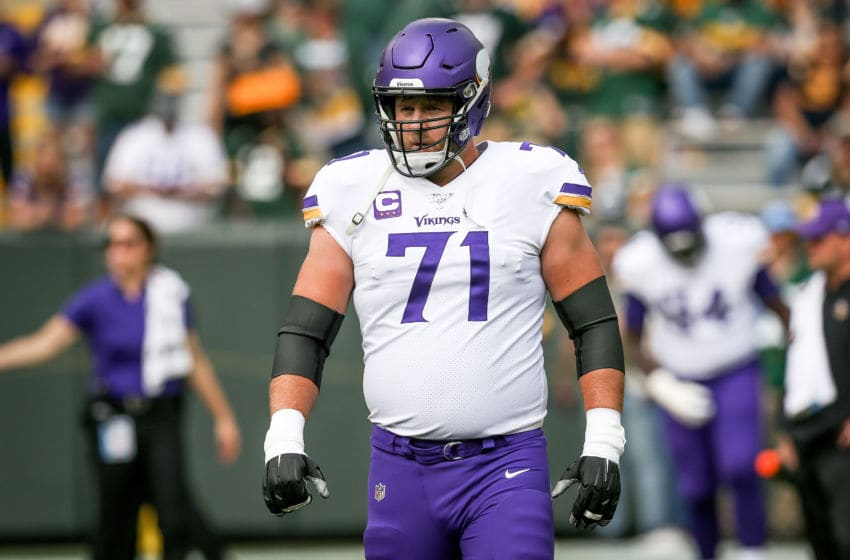 (Photo by Dylan Buell/Getty Images) Riley Reiff