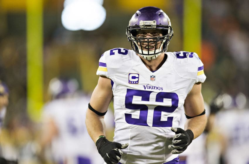 (Photo by Wesley Hitt/Getty Images) Chad Greenway
