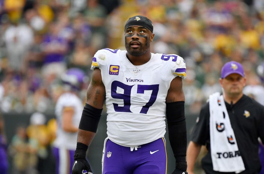 (Photo by Quinn Harris/Getty Images) Everson Griffen
