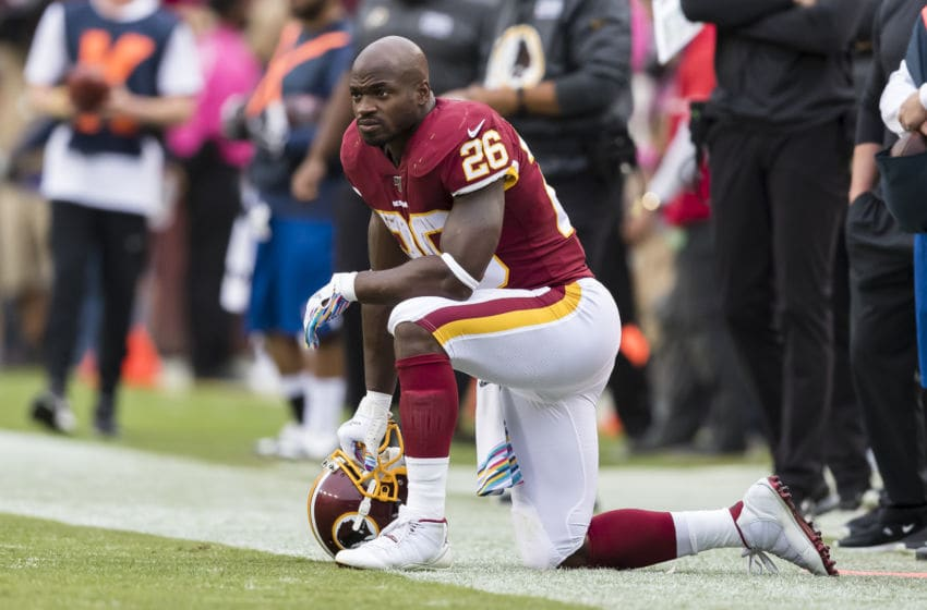 (Photo by Scott Taetsch/Getty Images) Adrian Peterson
