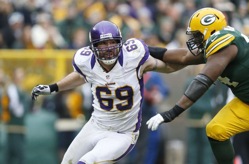 (Photo by Joe Robbins/Getty Images) Jared Allen