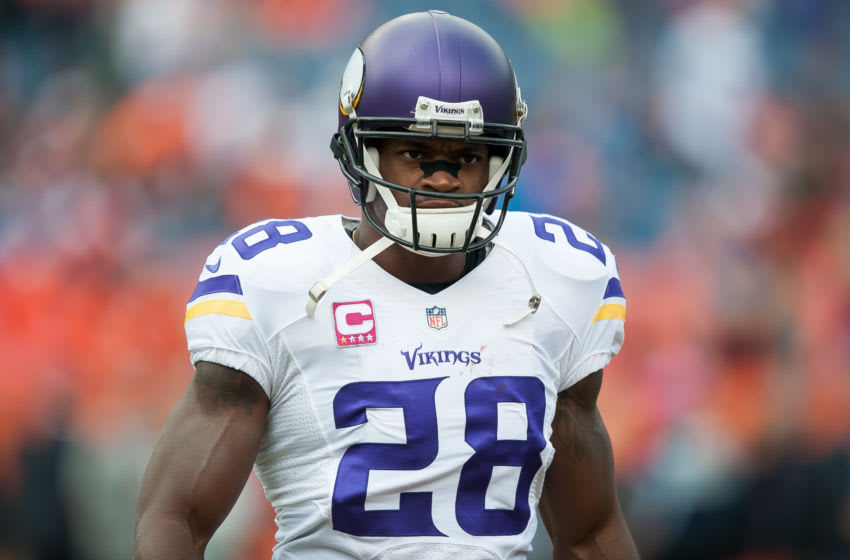 (Photo by Dustin Bradford/Getty Images) Adrian Peterson