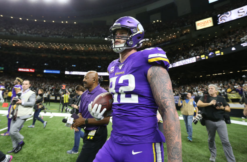 (Photo by Chuck Cook -USA TODAY Sports) Kyle Rudolph