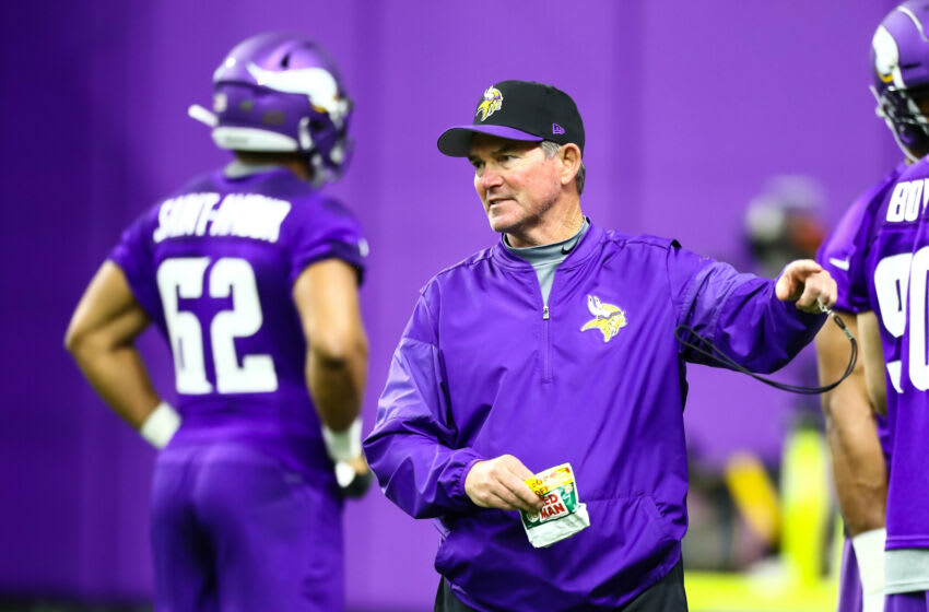 (Photo by David Berding-USA TODAY Sports) Mike Zimmer