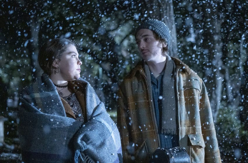 THIS IS US -- Pictured: (l-r) Austin Abrams as Marc, Hannah Zeile as Kate -- (Photo by: Ron Batzdorff/NBC)