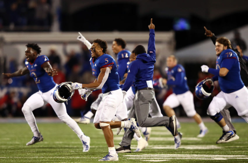 Kansas football (Photo by Jamie Squire/Getty Images)