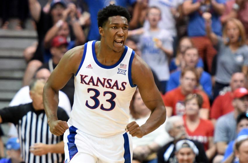 Kansas basketball (Photo by Mitchell Layton/Getty Images)