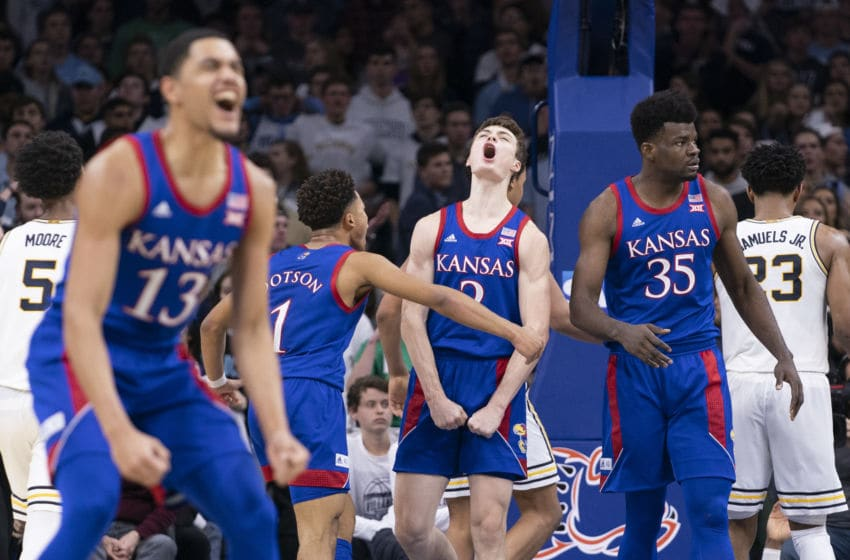 Kansas basketball (Photo by Mitchell Leff/Getty Images)