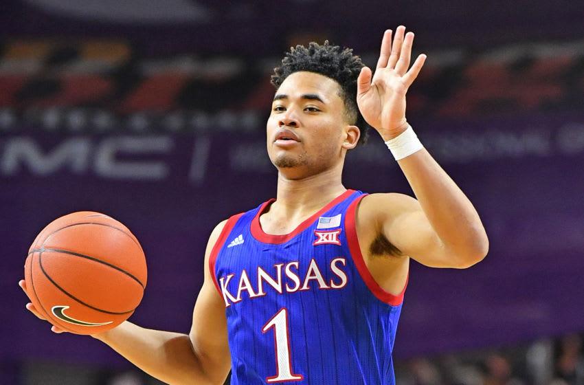 Kansas basketball (Photo by Peter G. Aiken/Getty Images)