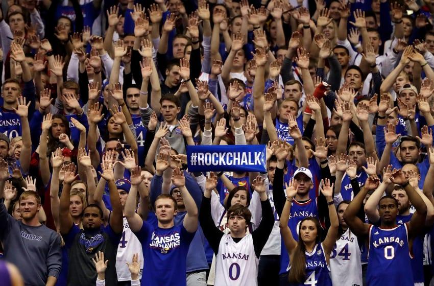 Kansas basketball, KU basketball (Photo by Jamie Squire/Getty Images)