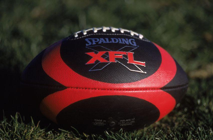 Kansas football Mandatory Credit: Jeff Gross /Allsport