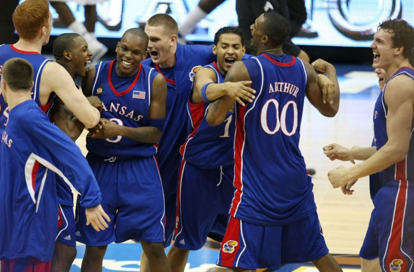 Kansas basketball (Photo by Jed Jacobsohn/Getty Images)