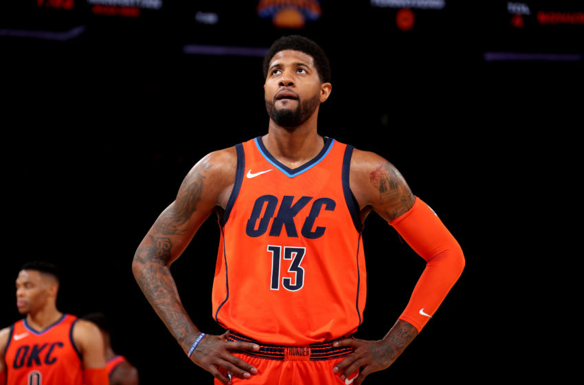 OKC Thunder, Paul George (Photo by Nathaniel S. Butler/NBAE via Getty Images)