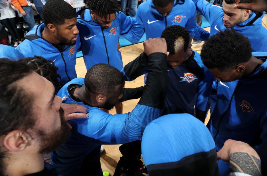 OKC Thunder, NBA Power Rankings week 22 (Photo by Zach Beeker/NBAE via Getty Images)