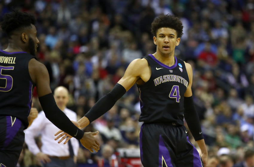 Matisse Thybulle Washington Huskies may have promise from OKC Thunder (Photo by Gregory Shamus/Getty Images)