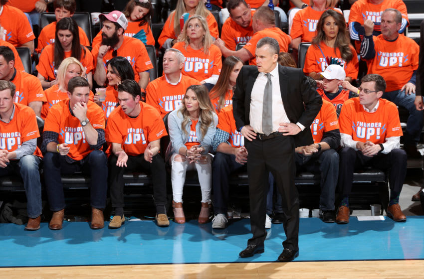 Head Coach Billy Donovan OKC Thunder, (Photo by Joe Murphy/NBAE via Getty Images)