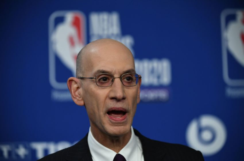 OKC Thunder: NBA commissioner Adam Silver . (Photo by FRANCK FIFE / AFP) (Photo by FRANCK FIFE/AFP via Getty Images)