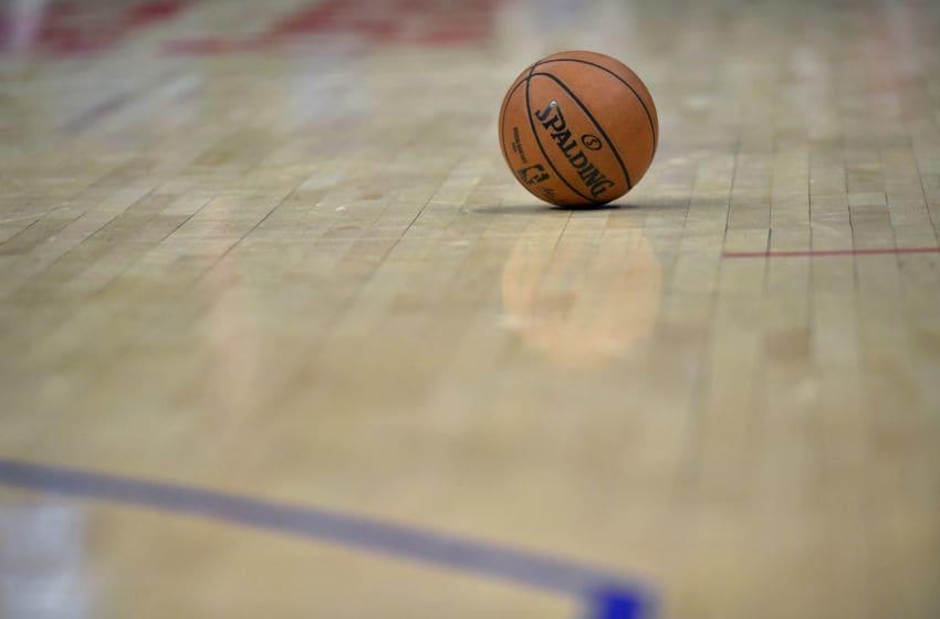 OKC Thunder: Basketball on the hardcourt (Photo by John McCoy/Getty Images)