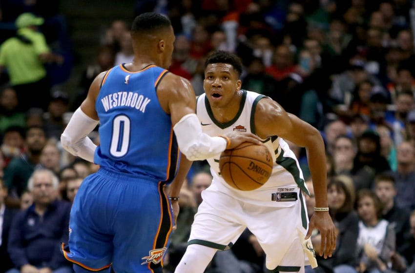 Russell Westbrook OKC Thunder trade deadline series (Photo by Dylan Buell/Getty Images)