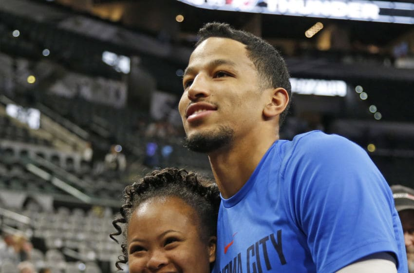 Andre Roberson of OKC Thunder (Photo by Ronald Cortes/Getty Images)