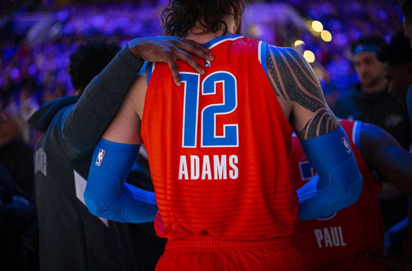 OKC Thunder Steven Adams (Photo by Zach Beeker/NBAE via Getty Images)