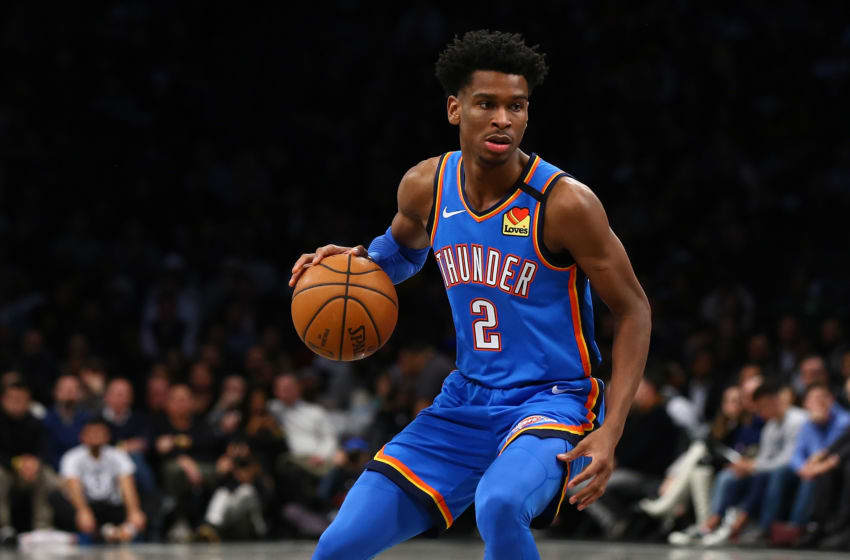 OKC Thunder Shai Gilgeous-Alexander (Photo by Mike Stobe/Getty Images)