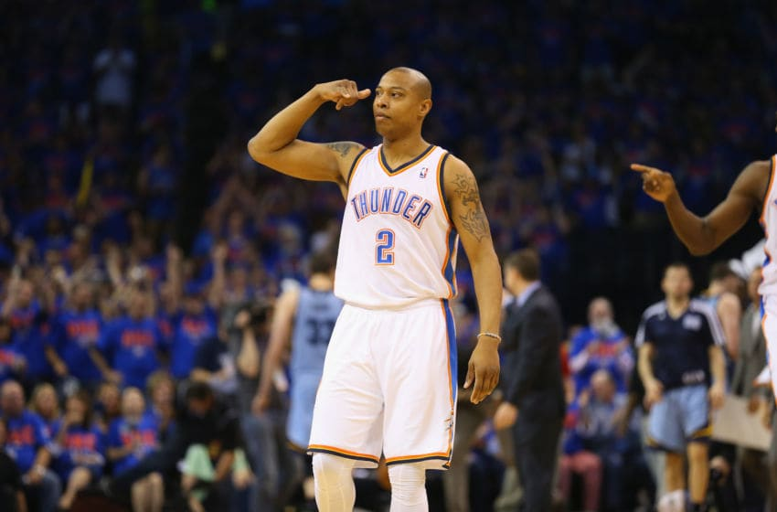 Caron Butler #2 of the Oklahoma City Thunder (Photo by Ronald Martinez/Getty Images)