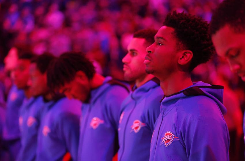 OKC Thunder (Photo by Ron Jenkins/Getty Images)