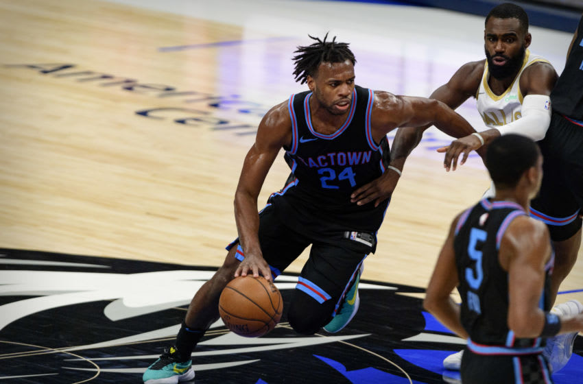 OKC Thunder vs. Kings: Buddy Hield (24) in action Jerome Miron-USA TODAY Sports