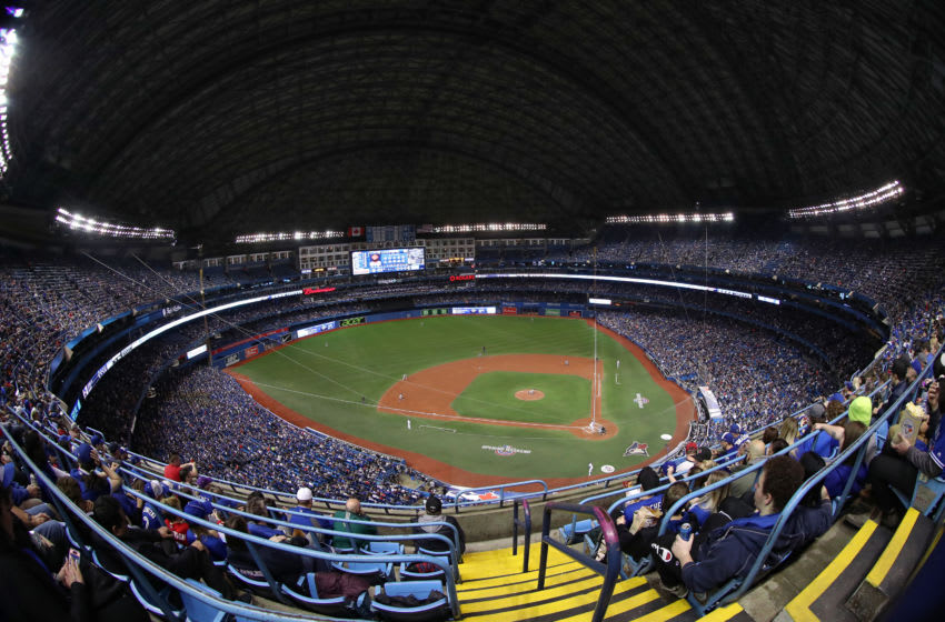 Rogers Centre Toronto Blue Jays (Photo by Tom Szczerbowski/Getty Images) *** Local Caption ***