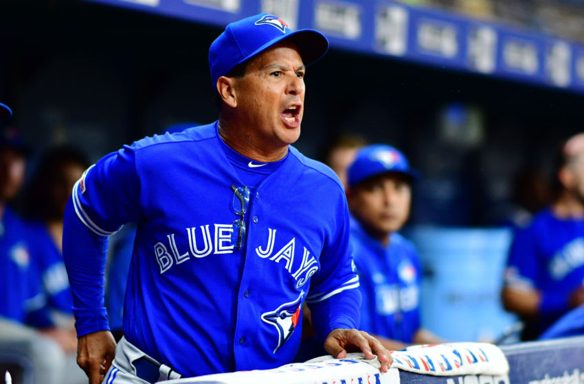 Manager Charlie Montoyo of the Toronto Blue Jays. (Photo by Julio Aguilar/Getty Images)