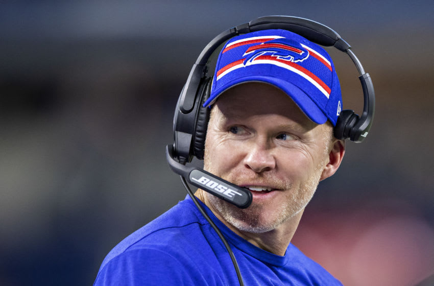Head Coach Sean McDermott of the Buffalo Bills. (Photo by Wesley Hitt/Getty Images)