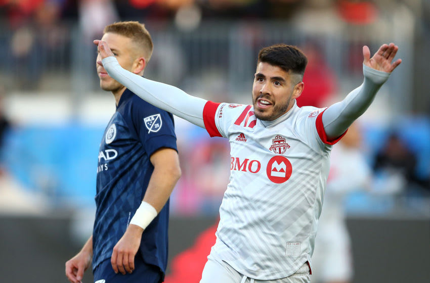 Alejandro Pozuelo of Toronto FC. (Photo by Vaughn Ridley/Getty Images)