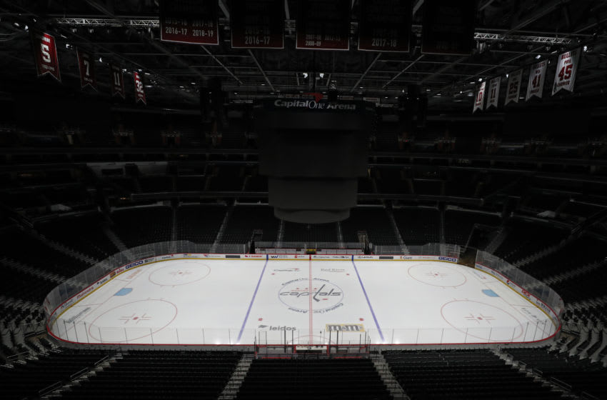 Capital One Arena on March 12, 2020 in Washington, DC. (Photo by Patrick Smith/Getty Images)