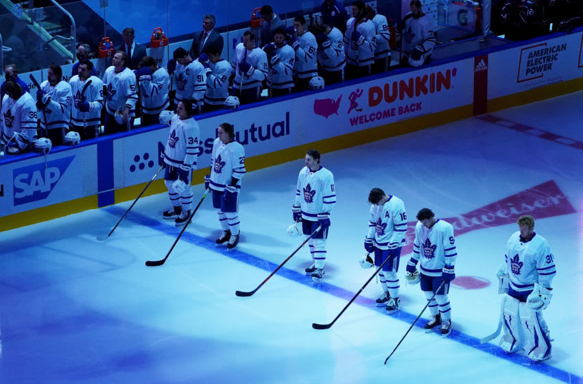 Toronto Maple Leafs. (Photo by Andre Ringuette/Freestyle Photo/Getty Images)