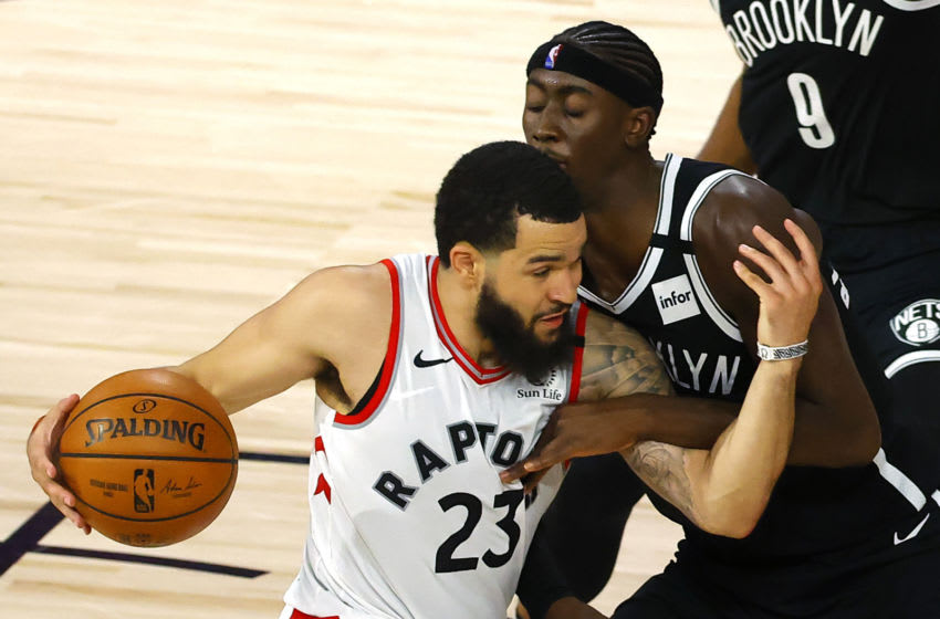 Fred VanVleet #23 of the Toronto Raptors. (Photo by Kevin C. Cox/Getty Images)