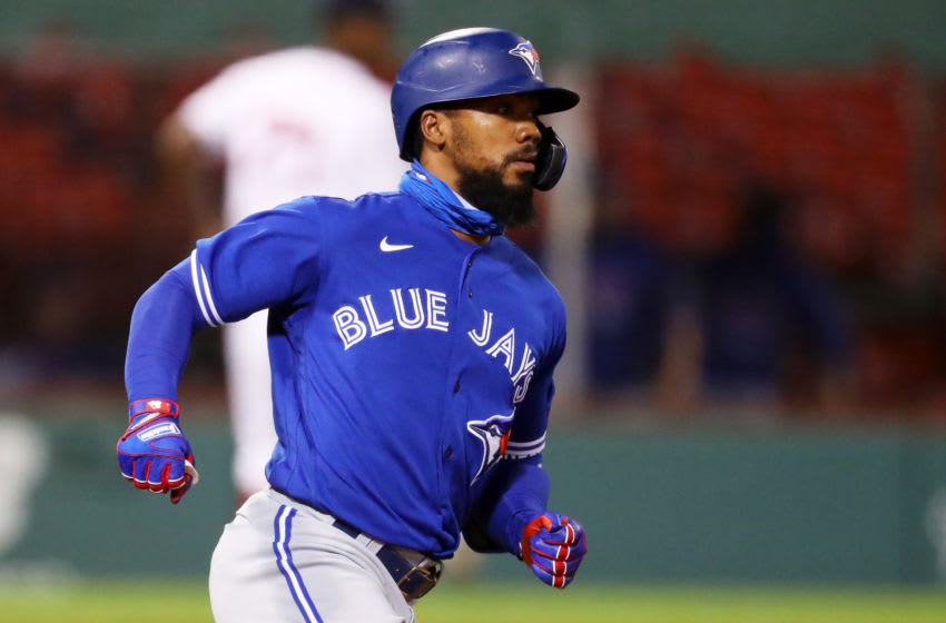 Teoscar Hernandez of the Toronto Blue Jays. (Photo by Maddie Meyer/Getty Images)