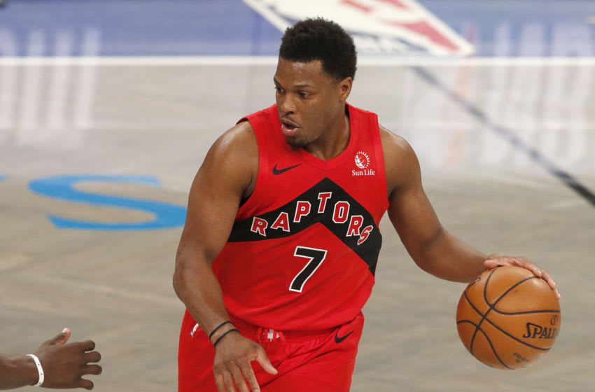 Kyle Lowry #7 of the Toronto Raptors. (Photo by Jim McIsaac/Getty Images)