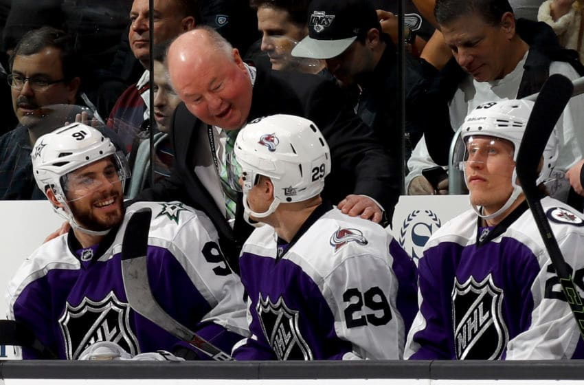Head Coach Bruce Boudreau. (Photo by Bruce Bennett/Getty Images)